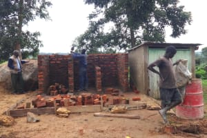The Water Project: Mwichina Primary School -  Brick By Brick
