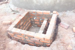 The Water Project: Kipchorwa Primary School -  Access Area Brickwork Around Tap
