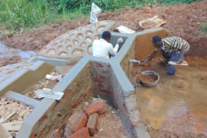 The Water Project: Jivovoli Community, Magumba Spring -  Interior And Exterior Plaster Work