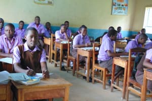 The Water Project: Friends Musiri Secondary School -  Students In Class
