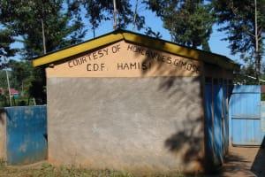 The Water Project: Gimomoi Primary School -  Girls Latrine Block