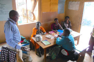 The Water Project: St. Peters Bwanga Primary School -  Teachers Talk In The Staffroom