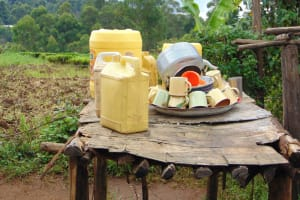 The Water Project: Kapsegeli KAG Primary School -  Dishrack