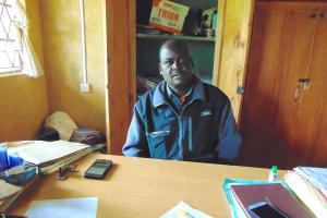 The Water Project: St. Joakim Buyangu Primary School -  Head Teacher Harun Chivedi