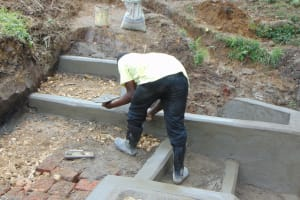 The Water Project: Buyangu Community, Mukhola Spring -  Staircase Construction