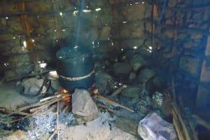 The Water Project: Jamulongoji Primary School -  Meal Preparation Inside Kitchen