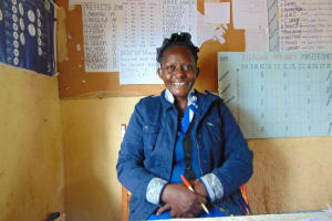 The Water Project: Kitagwa Primary School -  Teacher Beth Isalikho