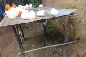 The Water Project: Isikhi Primary School -  Dishrack
