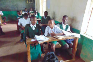 The Water Project: Galona Primary School -  Pupils In Class