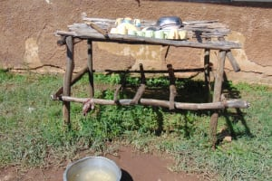 The Water Project: Gimengwa Primary School -  Dishrack