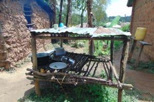 The Water Project: Jamulongoji Primary School -  Dishrack