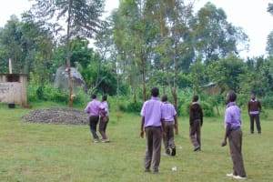 The Water Project: Friends Musiri Secondary School -  Students Playing Football