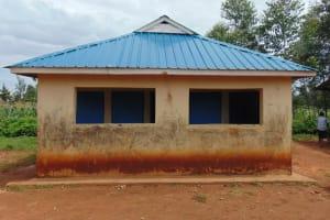 The Water Project: Saosi Primary School -  Boys Latrines