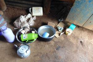 The Water Project: St. Joakim Buyangu Primary School -  Dish Washing Station Inside Kitchen