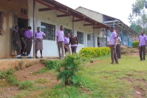 The Water Project: Friends Musiri Secondary School -  Students Relaxing During Short Break