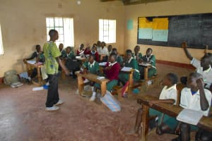 The Water Project: Wavoka Primary School -  Students In Class