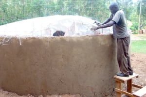 The Water Project: Kipchorwa Primary School -  Dome Work
