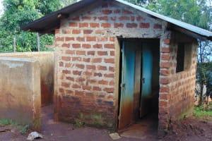 The Water Project: Kitagwa Secondary School -  Boys Latrines