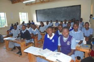 The Water Project: St. Martin's Primary School -  Students In Class