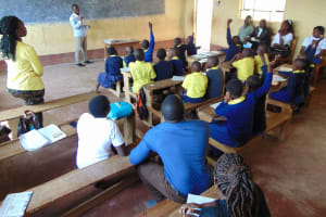 The Water Project: Kosiage Primary School -  Active Student Participation At Training