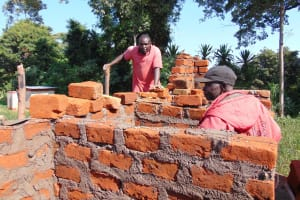The Water Project: Kamimei Secondary School -  Latrines Underway