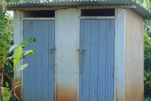 The Water Project: Gimengwa Primary School -  Staff Toilets