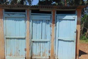 The Water Project: Jimarani Primary School -  Latrine Block