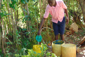 The Water Project: Gimengwa Primary School -  Student Drawing Water From Home