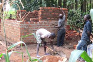The Water Project: St. Joseph's Lusumu Primary School -  Brick By Brick