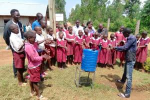 The Water Project: Mulwanda Mixed Primary School -  Handwashing Session