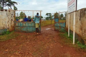 The Water Project: Kitagwa Primary School -  School Entrance
