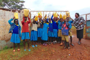 The Water Project: Kitagwa Primary School -  Students At School Gate