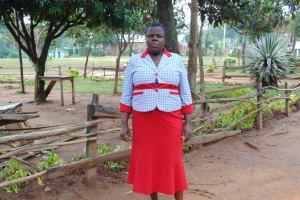 The Water Project: Kabinjari Primary School -  Sanitation Teacher Mrs Linet Sagire
