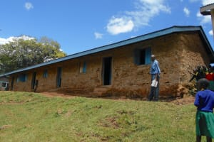 The Water Project: St. Peters Bwanga Primary School -  Grades Four Through Six Classrooms