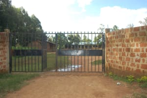 The Water Project: St. Martin's Primary School -  School Gate