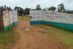 The Water Project: Galona Primary School -  School Gate
