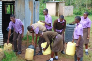 The Water Project: Friends Musiri Secondary School -  Time To Go Fetch Water