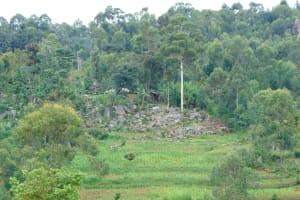 The Water Project: St. Joakim Buyangu Primary School -  Landscape Surrounding School