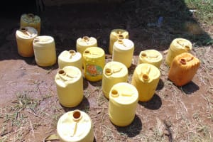 The Water Project: Jimarani Primary School -  Water Storage Containers