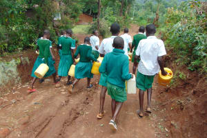 The Water Project: Galona Primary School -  On The Way To The Spring