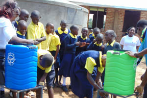 The Water Project: Kosiage Primary School -  Handwashing Session