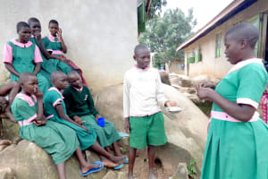 The Water Project: Mwichina Primary School -  Time To Try Salt And Ash As Toothpaste Alternatives