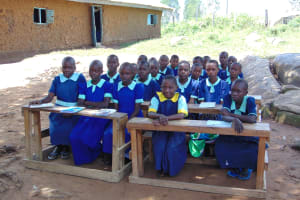 The Water Project: Mukama Primary School -  Students At Training