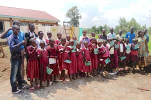 The Water Project: Mulwanda Mixed Primary School -  Smiles After Completing Training