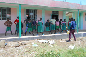 The Water Project: Ebukhayi Primary School -  Time For A Stretch