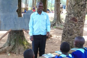 The Water Project: Mukama Primary School -  School Staff Opens Training