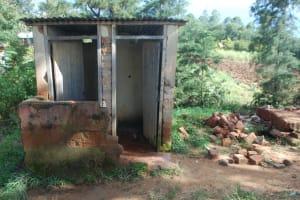 The Water Project: St. Martin's Primary School -  Boys Latrine Block