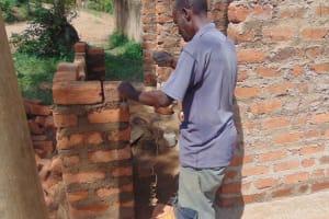 The Water Project: Kipchorwa Primary School -  Measuring Brickwork