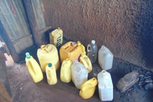 The Water Project: Kitagwa Primary School -  Water Fetching And Storage Jugs