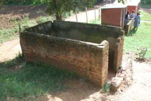 The Water Project: St. Martin's Primary School -  Boys Urinal